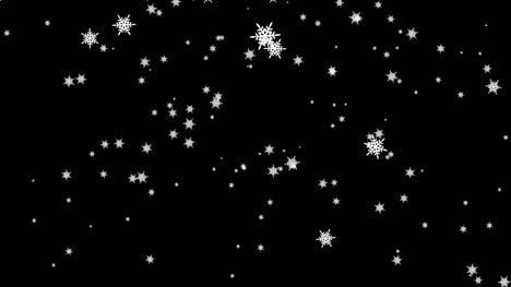Falling Snowflakes Background Loop Free Stock Video Video Footage Music Sound Effects