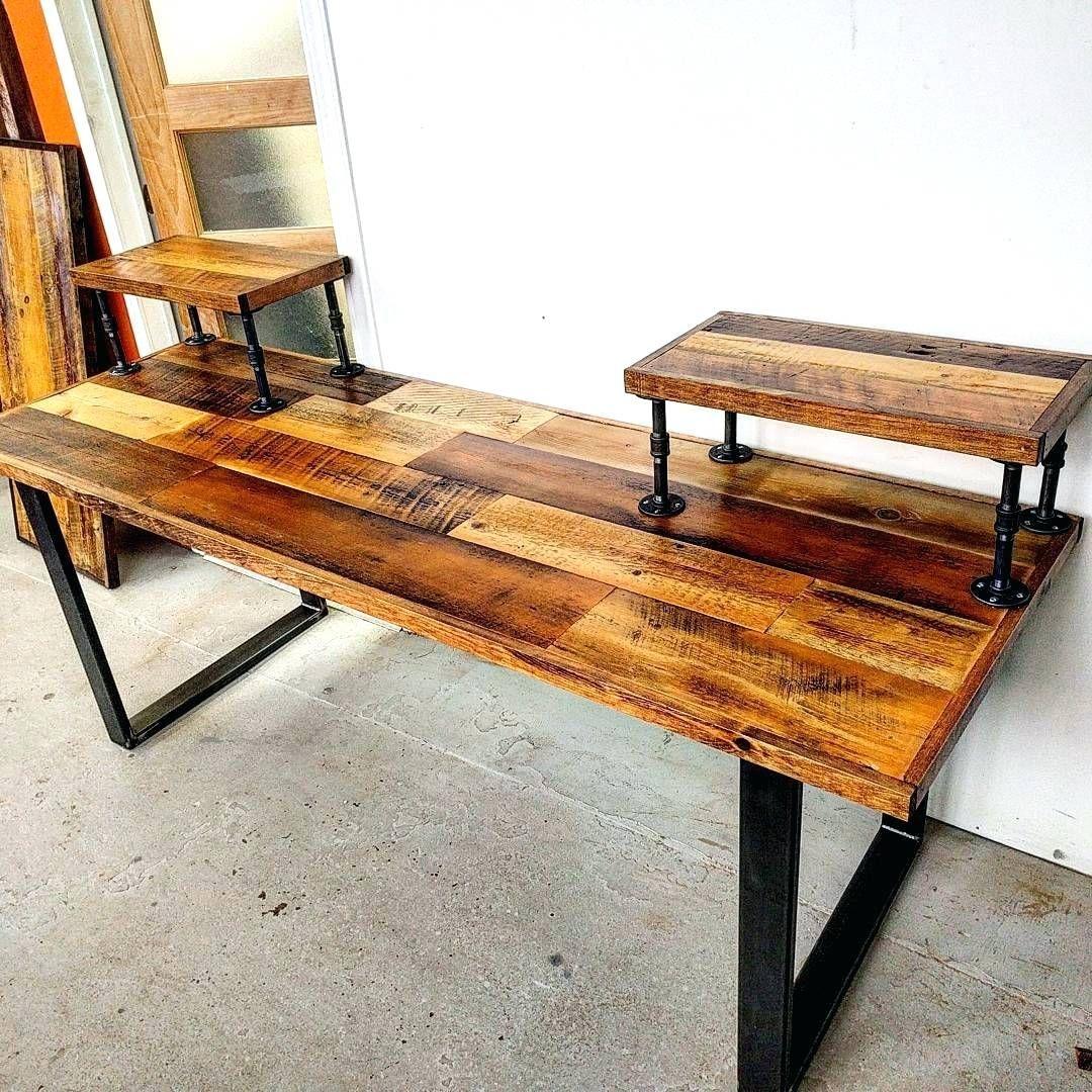 Industrial Table Legs Wood Computer Desk Diy Computer Desk