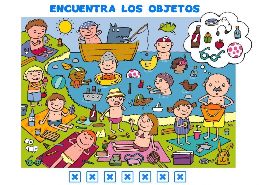 Atención Y Observación Ficha Interactiva Y Descargable Puedes Hacer Los Ejercicio Actividades De Aprendizaje Preescolares Juegos Educativos Online Actividades