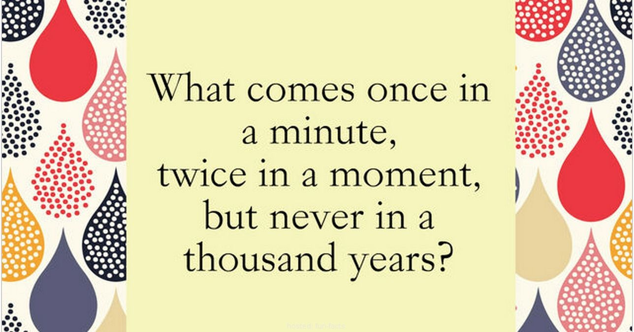 Perfect Riddles That Will Leave You Scratching Your Head