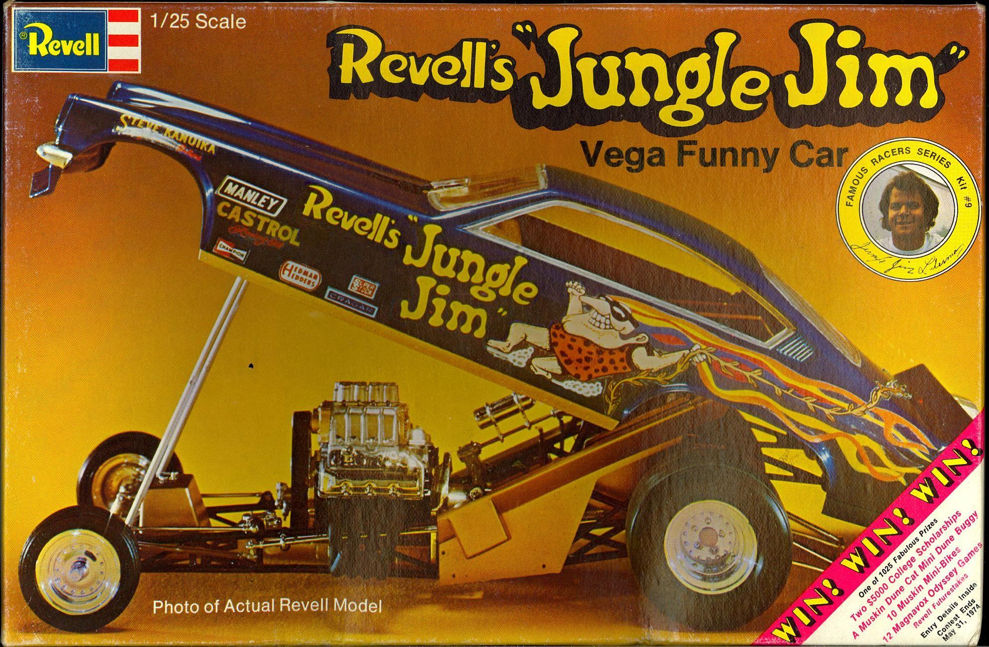Revell's jungle jim vega plastic model | 1973 Revell Models