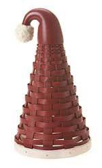 Santa's Hat Basket