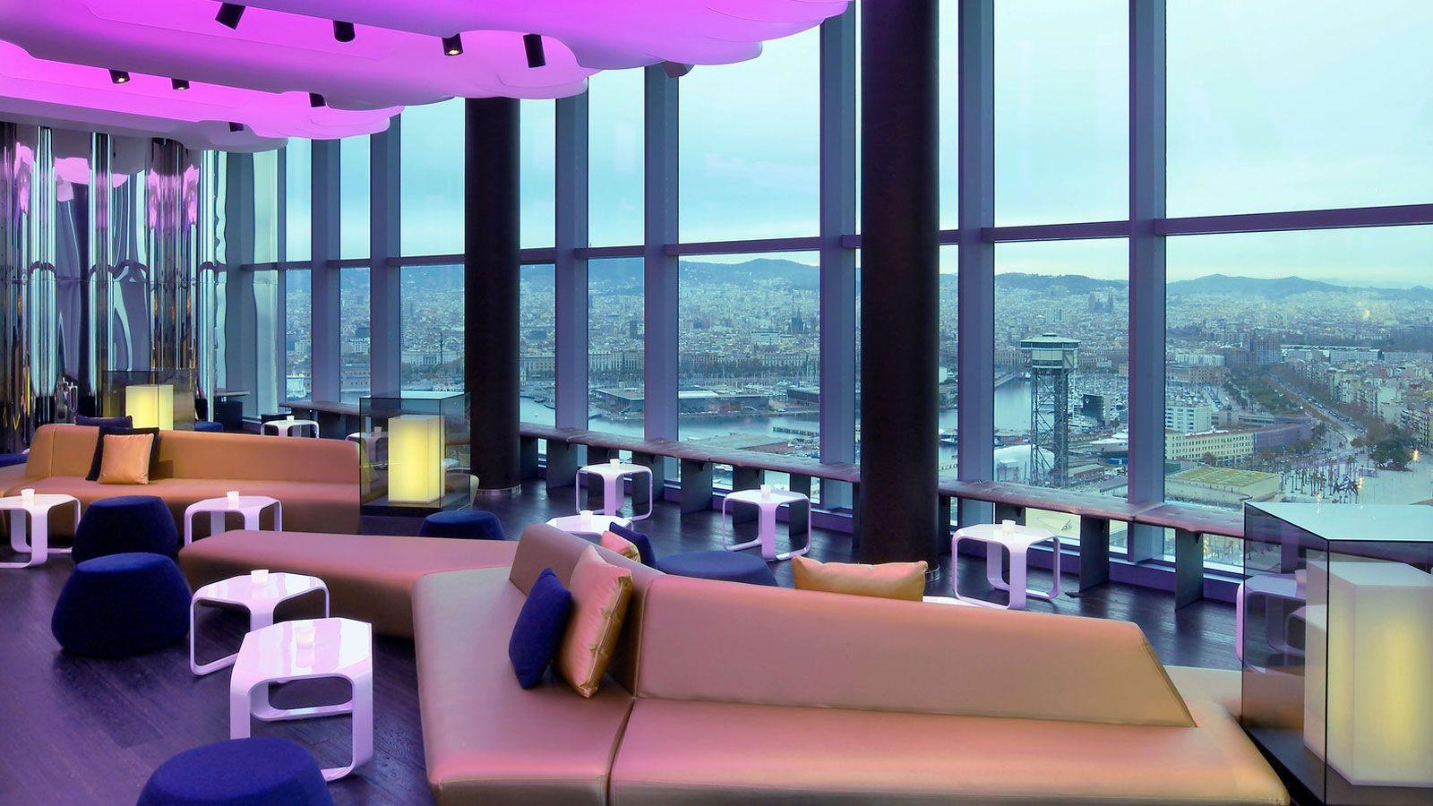 The W Hotel In Barcelona By Ricardo Bofill Architecture Design Barcelona Hotels Hotel Destination Wedding Resort