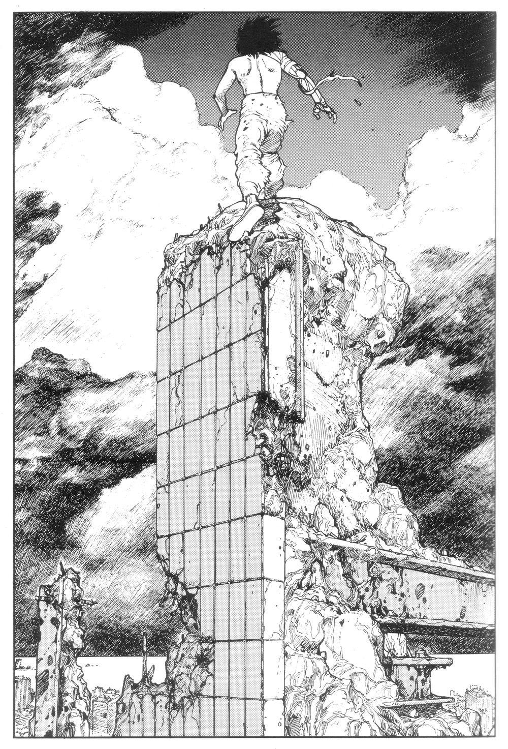 Rhade Zapan Akira Panel By Katsuhiro Otomo More Akira Arte Renacentista Pintura Referencia De Arte Y Dibujo Manga