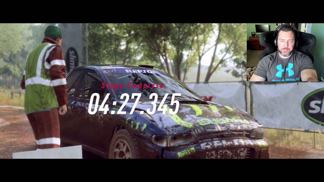 Dirt Rally 2 Game Play w/ Accuforce + Next Level Racing V3 +