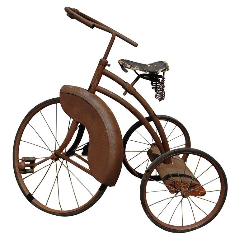 Vintage Tricycle Wheels : Old tricycles vintage tricycle at stdibs antique and