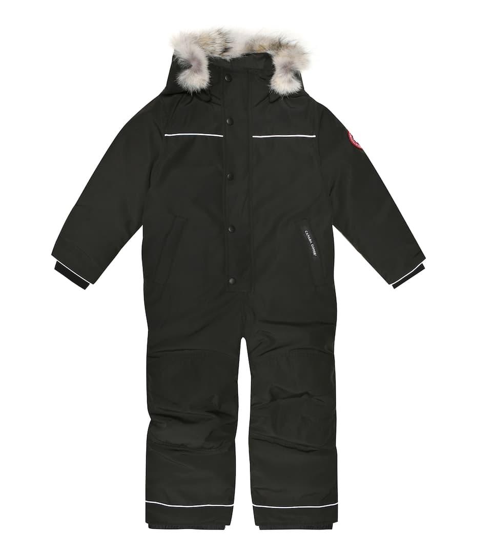 Grizzly down snowsuit
