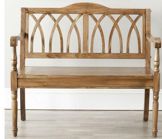 Living Room Furniture Bench Garden Outdoor Indoor Wooden Bedroom ...