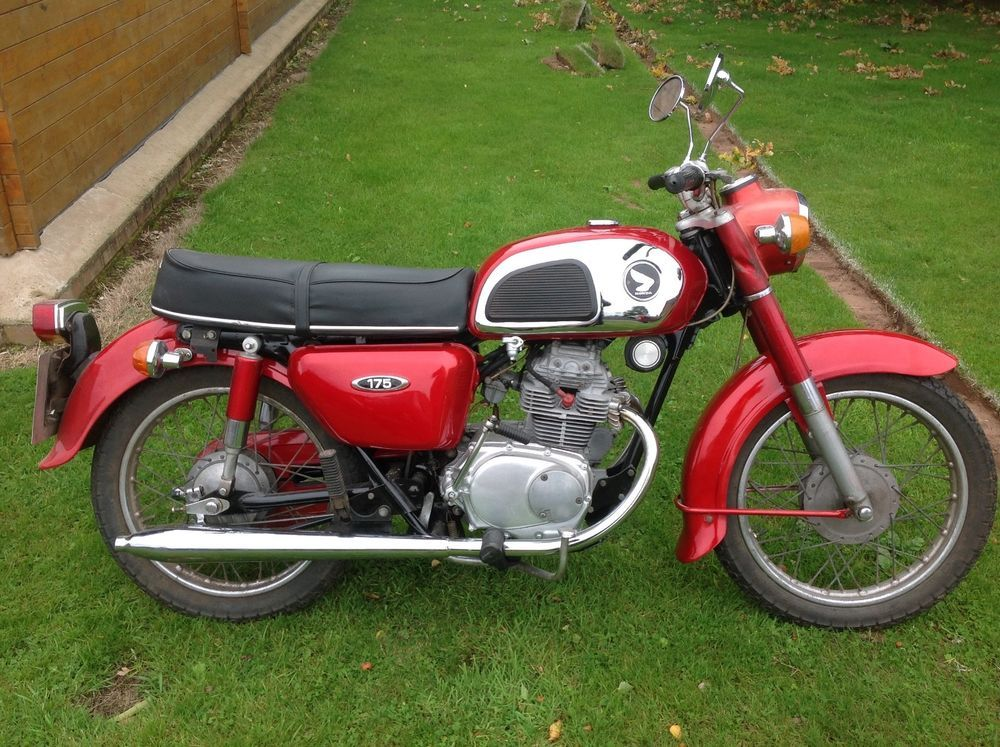 Ebay Classic Motorcycle Honda Cd175 Only 4 Previous Owners Classic Motorcycles Honda Motorcycles Motorcycle