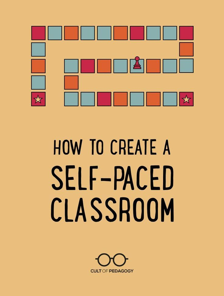 How to Create a Self-Paced Classroom