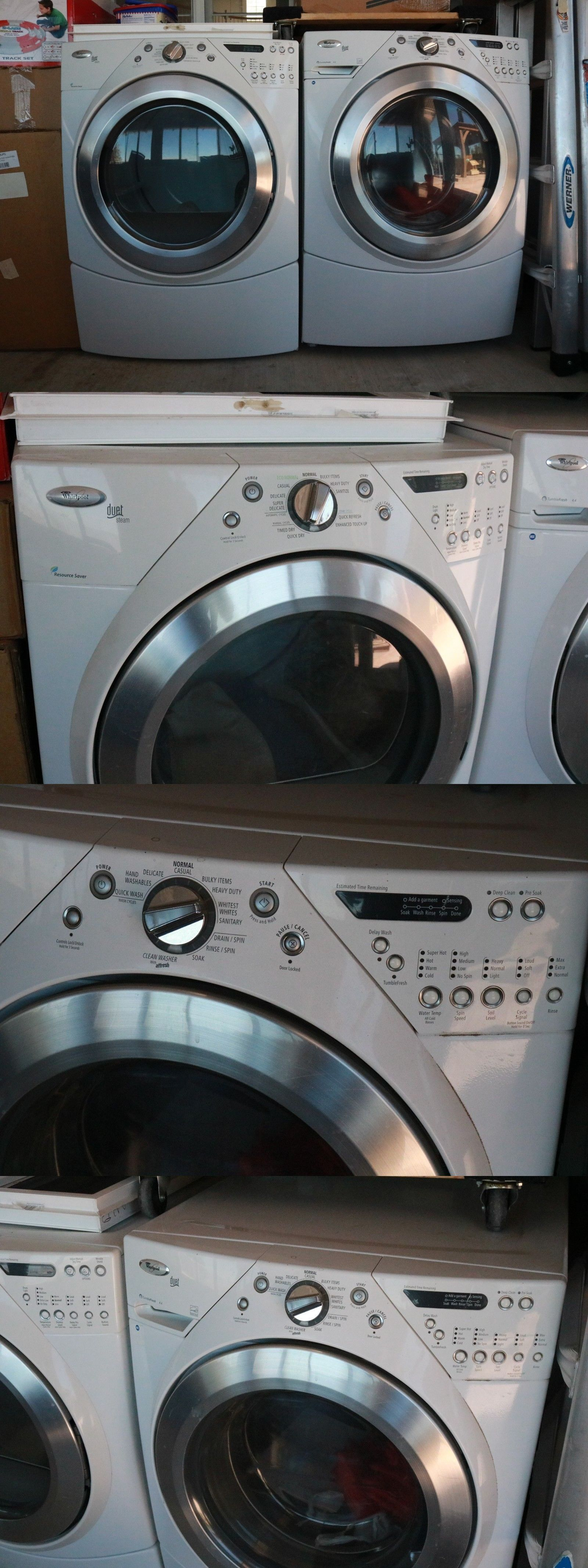 Washer Dryer Combinations and Sets 71257: Whirlpool Duet