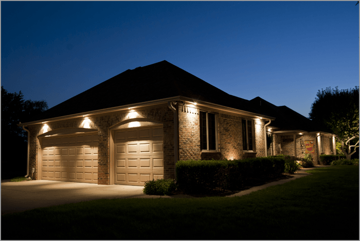 down lighting | Outdoor soffit lighting | Pinterest | Landscaping ...