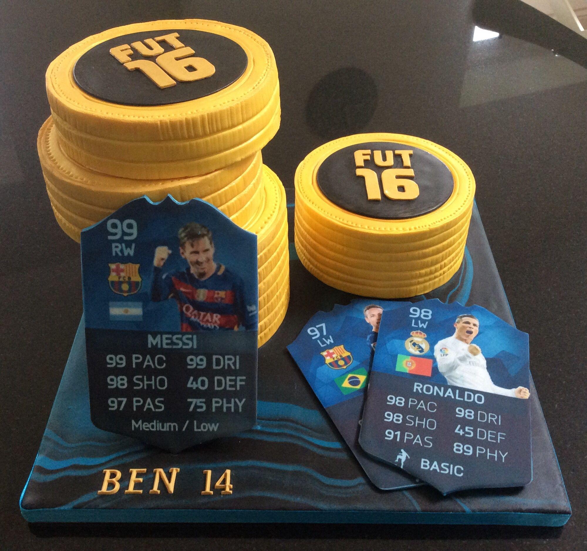 Ben S Fifa 16 Birthday Cake Fifa Cake Cakes For Boys Cupcake Cakes