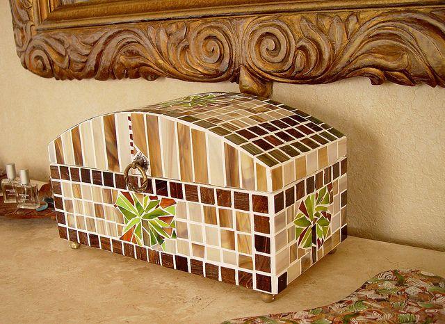 Mosaic Jewelry Box, via Flickr.
