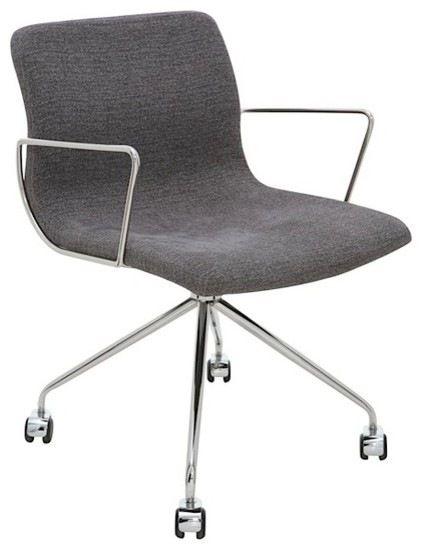Alta Office Chair, Black modern-task-chairs