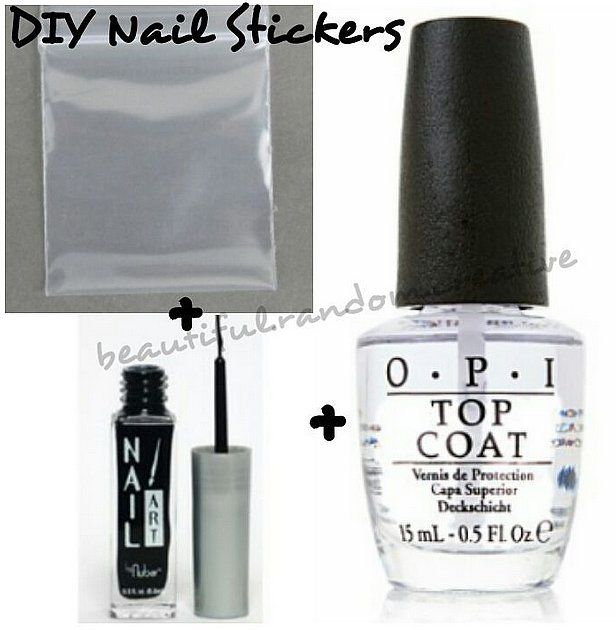 Master The AtHome Manicure With These Nail Hacks Resealable - How to make nail decals at home
