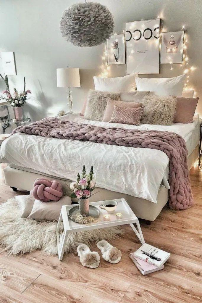 25+ petites idées de chambre à coucher décorées pour faire plus gros #bedroomdecor #bedroomdesign # ... - Wood Design #teenagegirlbedrooms
