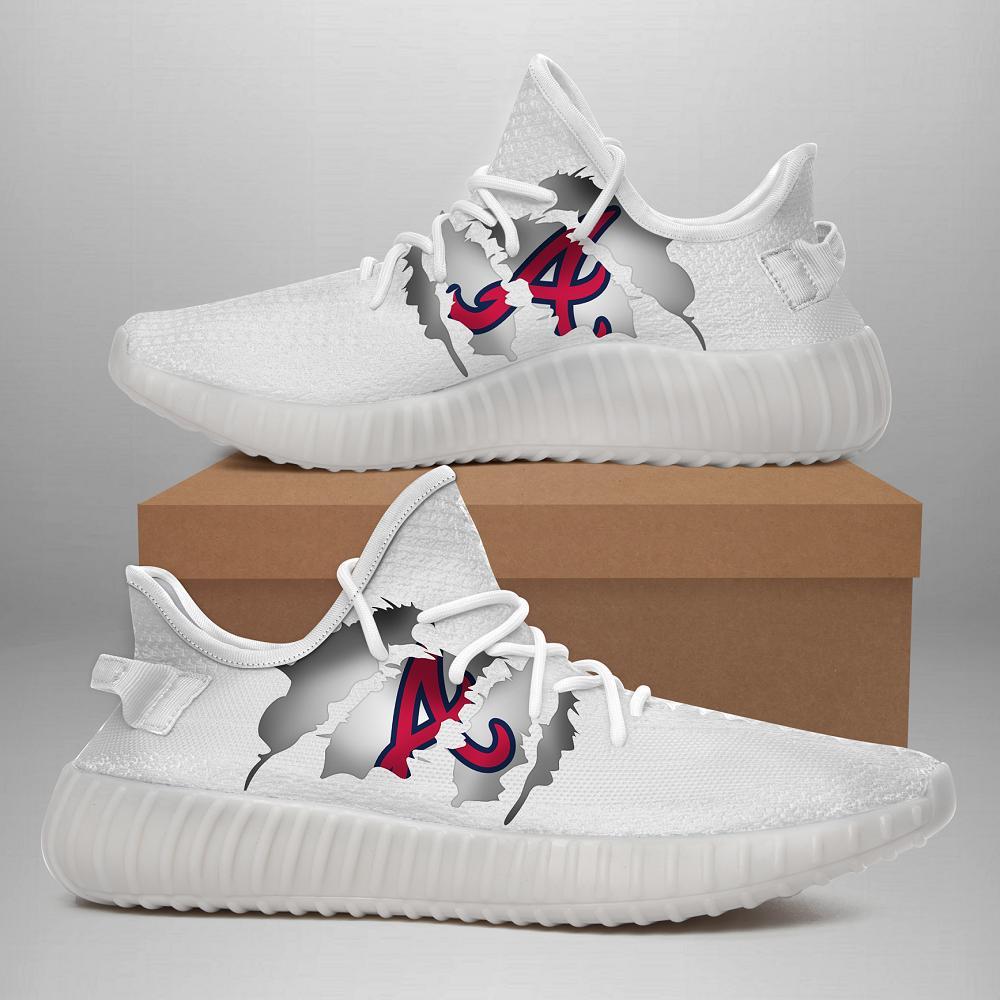 Atlanta Braves Yeezy Sneaker Mononus Atlanta Braves Shoes Yeezy Sneakers Yeezy