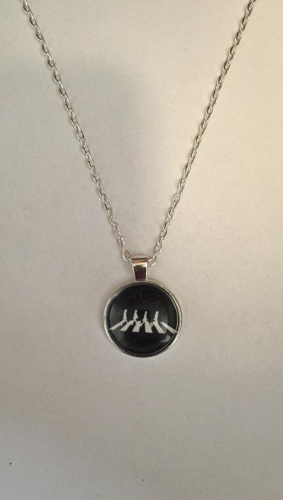 "Beatles Necklace - Beautiful 1"" Round Pendant"