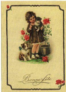 Miss Jane: Easter & Spring Vintage Postcards 2