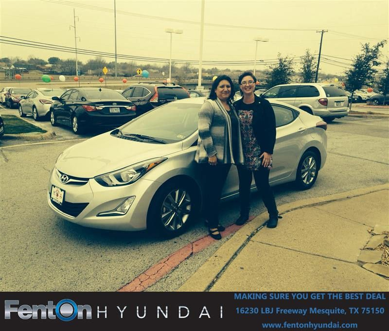 HappyBirthday to Ana from Karen Dabney at Fenton Hyundai!