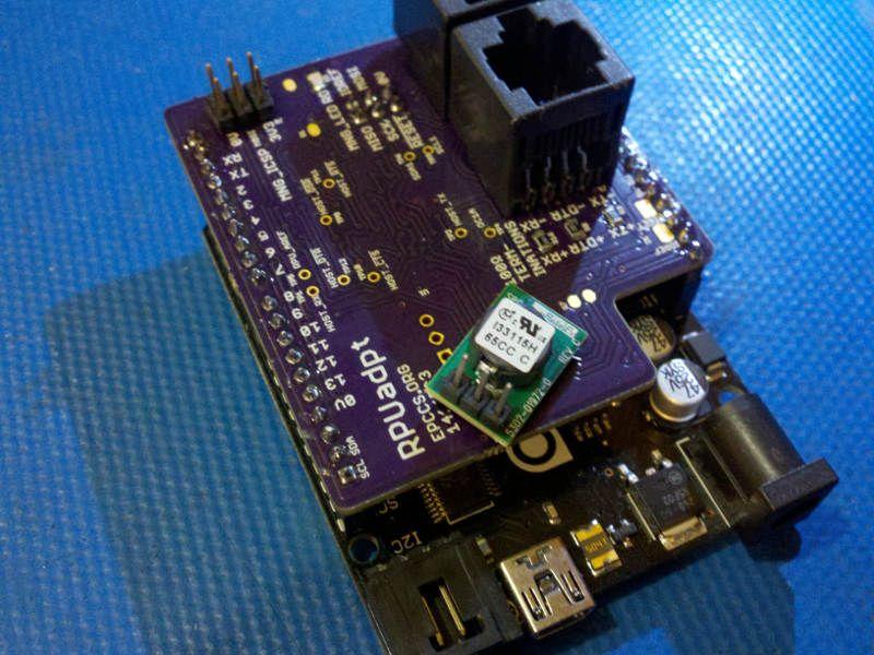 RPUadpt Arduino shield   Open Hardware Projects   Arduino