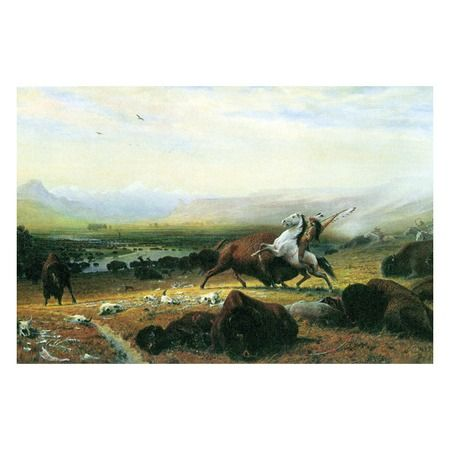 I pinned this Last Buffalo Canvas Art from the Spirit of the West event at Joss and Main!