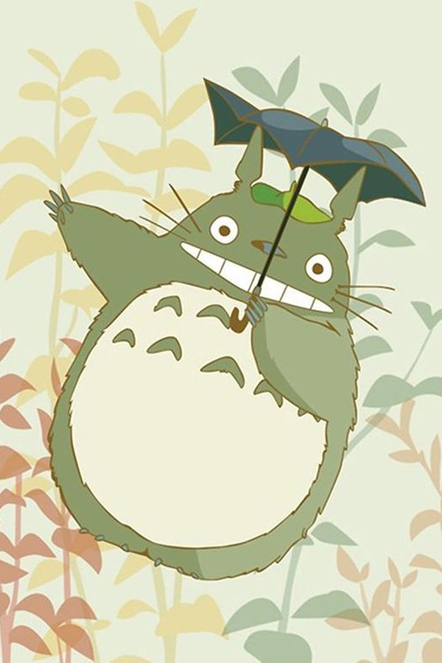 Cute My Neighbor Totoro IPhone 4s Wallpaper
