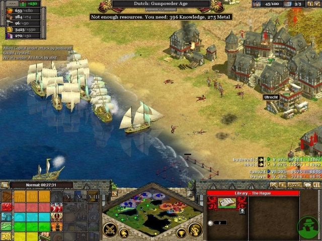 strategy games on line