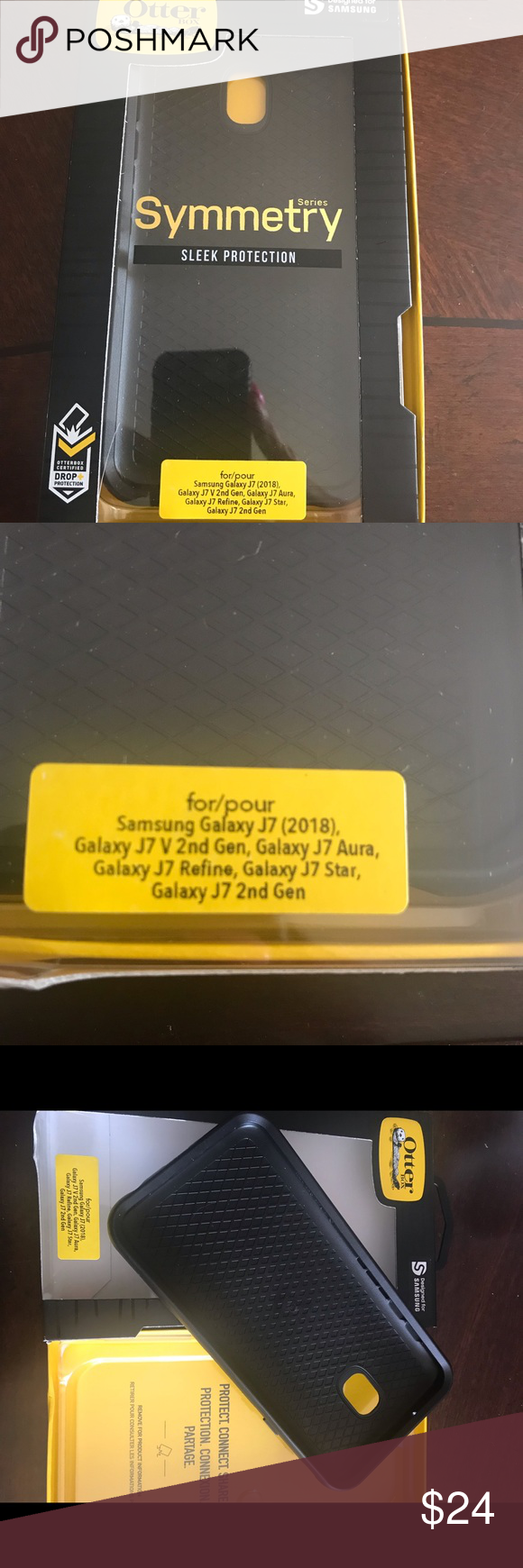 best sneakers 830a8 1dff6 OtterBox cover for Samsung Galaxy J7 New in box. Fits Samsung Galaxy ...