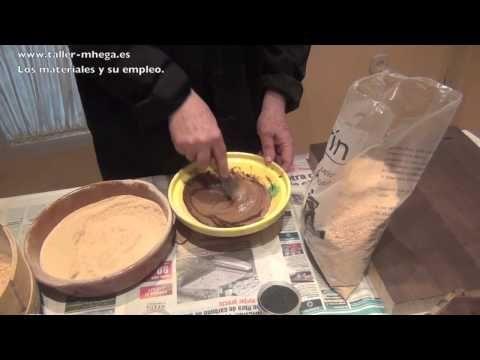 Como hacer masilla de madera youtube materiales para - Masilla para madera casera ...