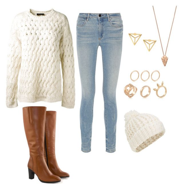 """""""Winter chill"""" by regan-redshaw on Polyvore featuring Alexander Wang, The Row, Jilsen Quality Boots, Pamela Love and Accessorize"""