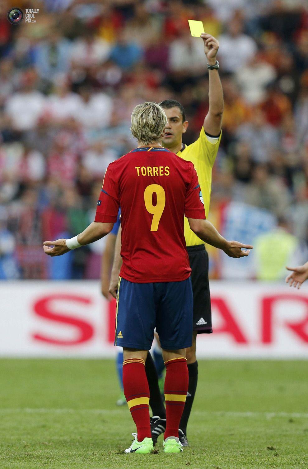 Euro 2012: Spain vs Italy