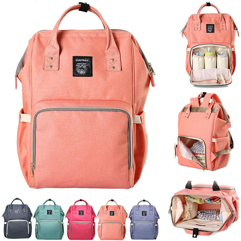 a962e5d8cd51 Water Resistant Baby Diaper Bag Backpack Changing Bag Travel Bag Nappy Bag