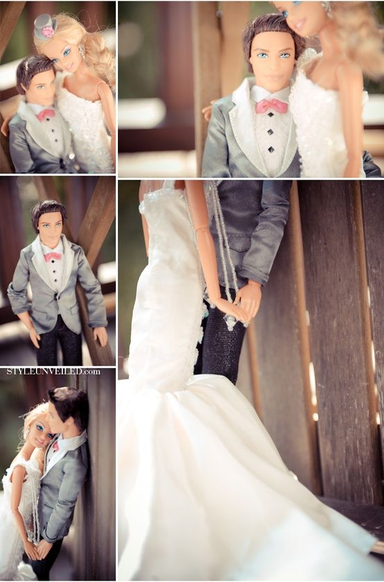 Barbie Wedding Photos!!- I saw these when they first came out! So cute!!