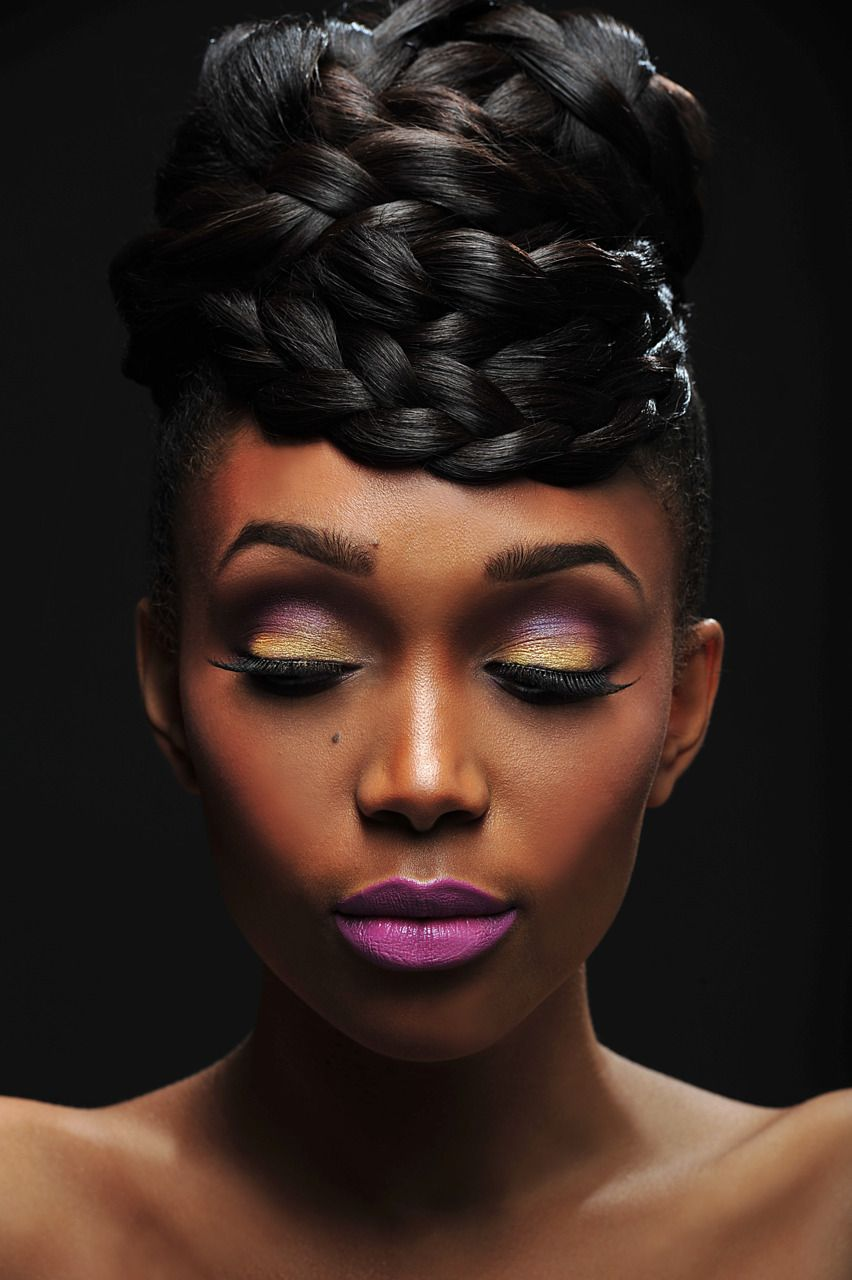 Majestic natural wedding hairstyles african american wedding