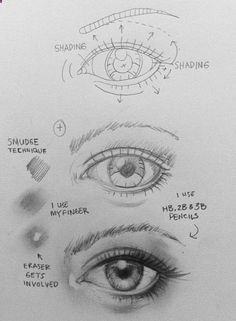 Pencil Portrait Mastery - How to draw an eye This is probably the best way to explain it to a newbie Discover The Secrets Of Drawing Realistic Pencil Portraits
