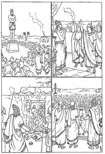 El horno de fuego (Daniel 3) | LA BIBLIA | Pinterest