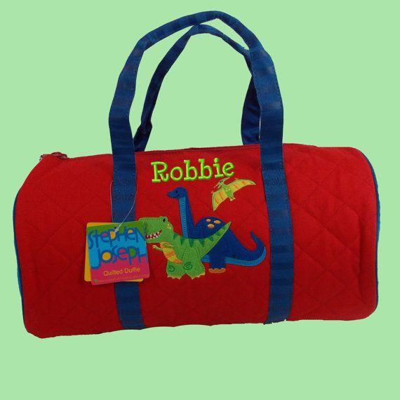 abed66925dee monogrammed children s duffle bags. Child s Monogrammed Stephen Joseph  Newest