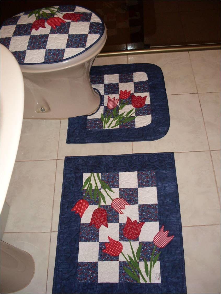 Kit Banheiro Em Tecido : Kit para banheiro algod?o cru e