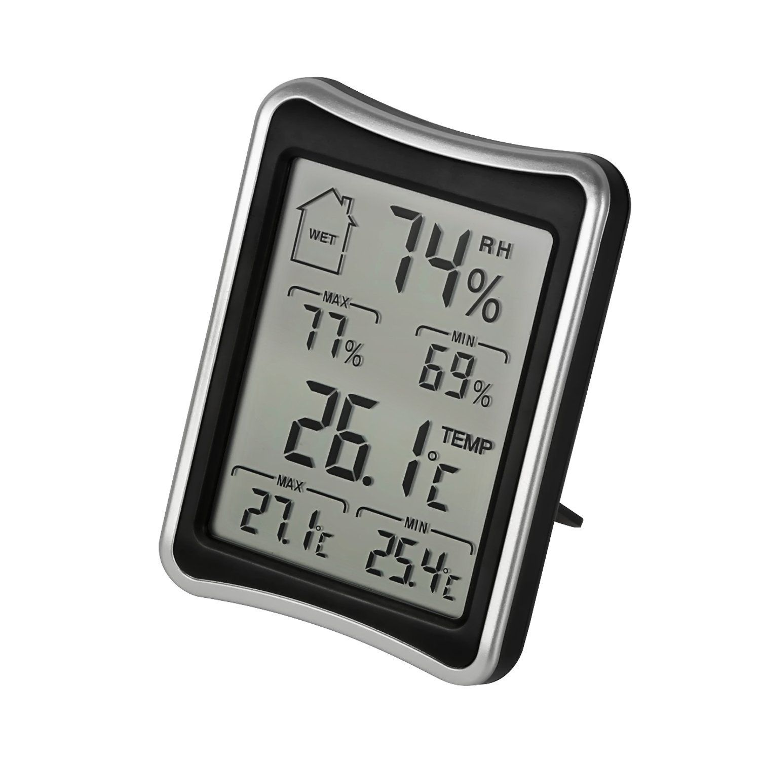 Honesteast Digital Hygrometer Thermometer Indoor Humidity Monitor With Temperature Gauge Meter You Can