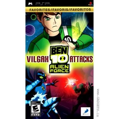 Ben 10 Alien Force Vilgax Attacks Psp Ben 10 Alien Force