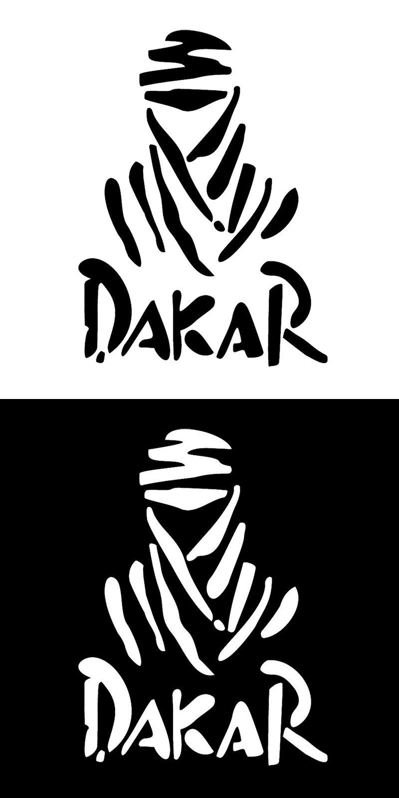 11 415 4cm dakar paris rally race logo car window decal vinyl car sticker c1 4000