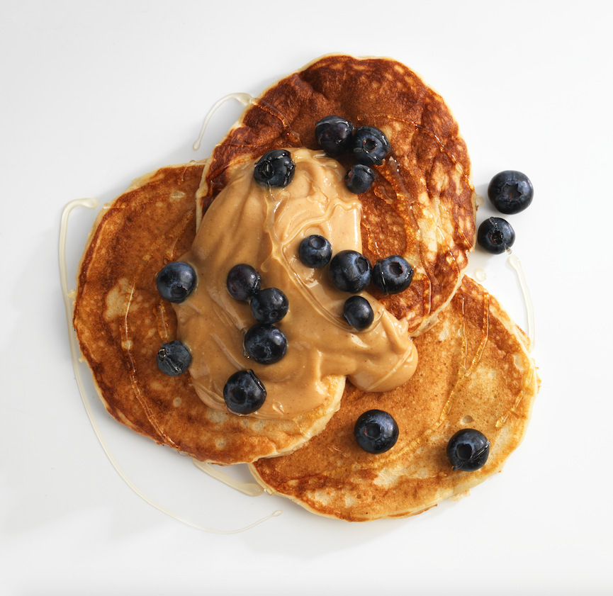 Kick-start your day with our Buttermilk Pancakes with Peanut Honey Sauce. Because peanut butter goes with everything! All recipes available from our website   #pancakes #peanutbutter #buttermilk #food #breakfast #protein #highprotein #easyprotein #eatclean #getlean #powerfood #foodporn #instafood #yum #yummy #eat #homemade #dessert #health #fitness #fit #fitspo #fitfam #train #training #health #healthy #instahealth #strong #diet