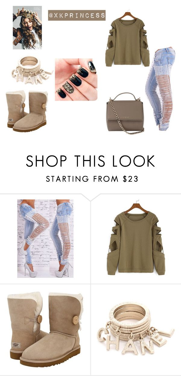 """""""Untitled #383"""" by xkprincess on Polyvore featuring UGG Australia and Givenchy"""