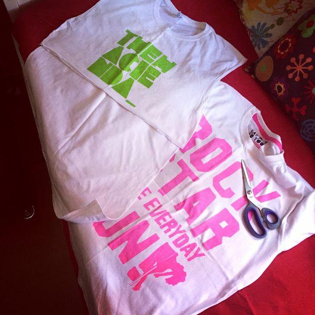 Tacchi a strillo: 2 t-shirt = vestito!