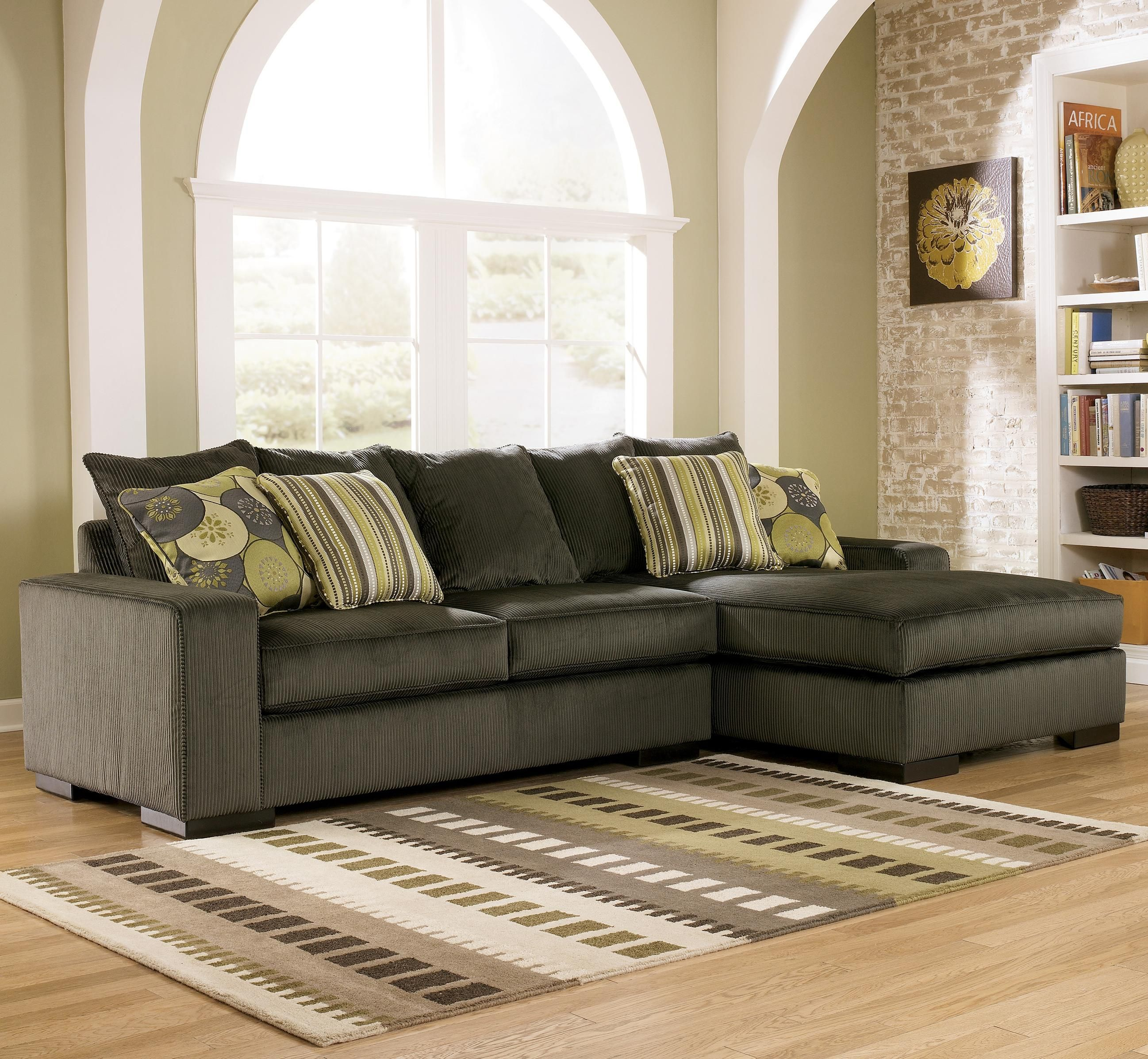sectional right furniture cuddler with item piece products couches park small ashley patina patola
