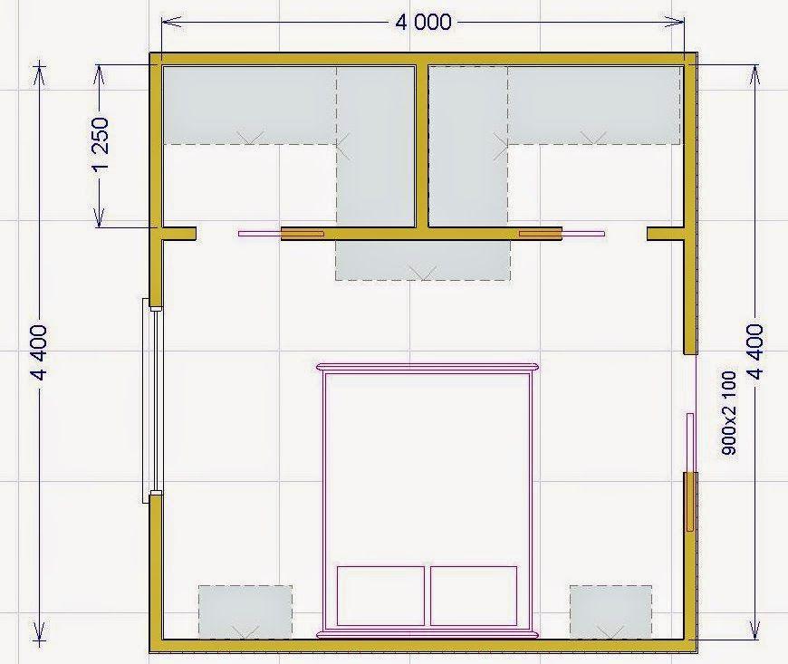 Progetto cabina armadio planos ok pinterest parental - Cabina armadio dimensioni minime ...