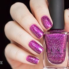 Wanderlust - Saturated Fuchsia Holographic Nail Po