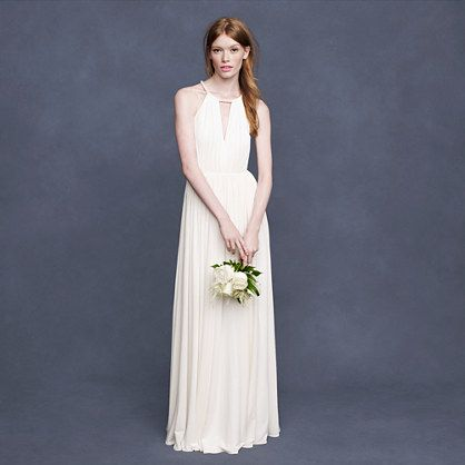 J Crew Ursula Gown - Liquid Jersey Size 3 Wedding Dress | Ursula ...